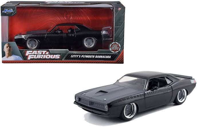 Letty's Plymouth Barracuda