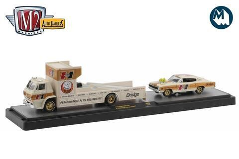 1966 DODGE L600 & Charger Hemi BEIGE Chase