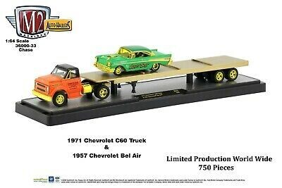 1971 CHEVROLET C60 Truck & '57 Bel Air Chase
