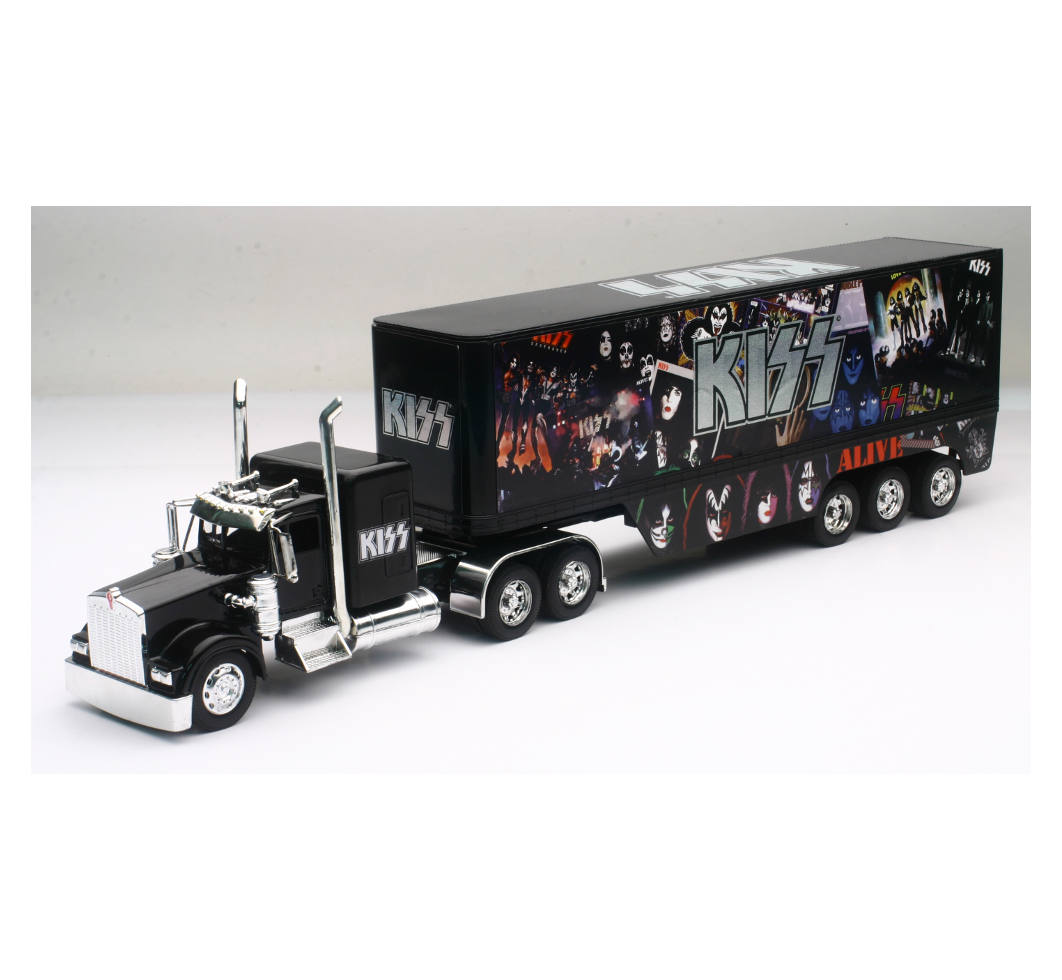 Kenworth W900 Kiss Banda de Rock