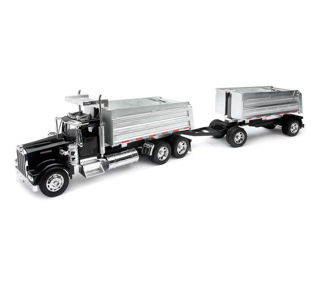 Kenworth W900 doble volteo