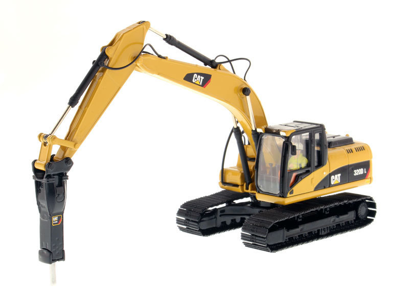 CAT 320D L HYDRAULIC EXCAVATOR WITH HUMMER