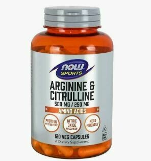 NOW Foods Arginine & Citrulline Caps