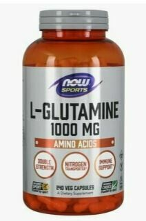 NOW Glutamine 1000mg 240caps