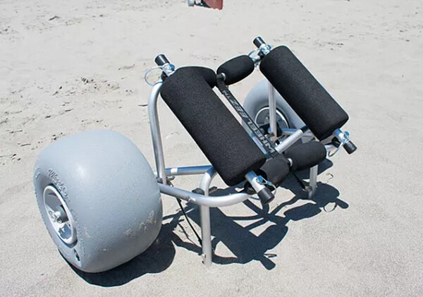 Beachwheels Cart Rail Kit