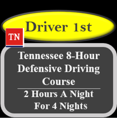 8-Hour Defensive Driving Course (2 X 4)