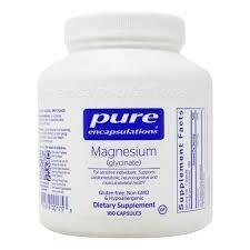 Magnesium Glycinate - 180 capsules