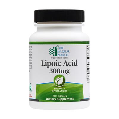 Lipoic Acid 300mg - 60 capsules