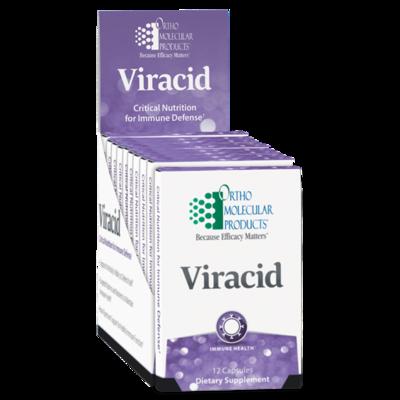 Viracid Travel Pack - 12 capsules