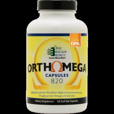 OrthoMega 820 - 120 softgel capsules