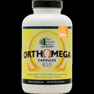 OrthoMega 820 - 180 softgel capsules