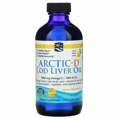 Arctic-D Cod Liver Oil - 8 oz