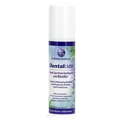 Dentalcidin Toothpaste - 3oz Bio Botanical Research