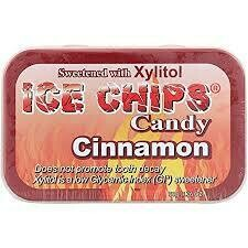 Ice Chips Cinnamon Xylitol Candy