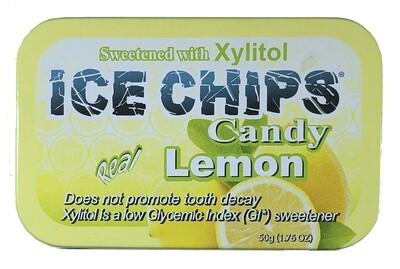 Ice Chips Lemon Xylitol Candy