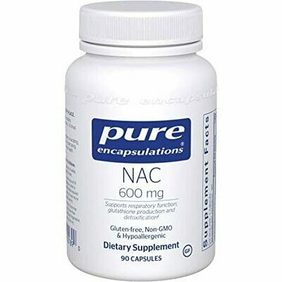 NAC 600mg - 90 capsules
