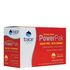 Trace Minerals Electrolyte Stamina Power Pak - Citrus - Sugar Free