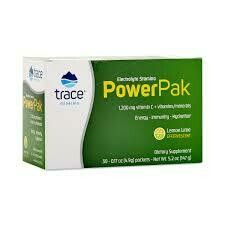 Trace Minerals Electrolyte Stamina Power Pak - Lemon Lime