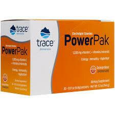 Trace Minerals Electrolyte Stamina Power Pak - Orange Blast