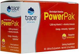 Trace Minerals Electrolyte Stamina Power Pak -  Tangerine