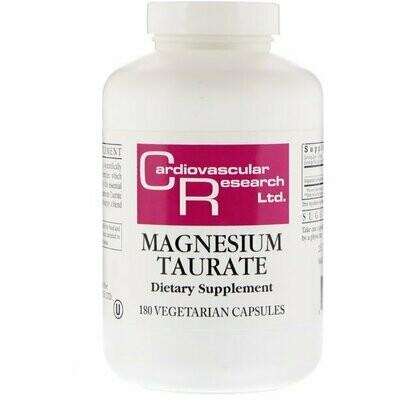 Magnesium Taurate - 180 capsules
