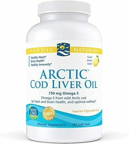 Arctic Cod Liver Oil - 180 softgels