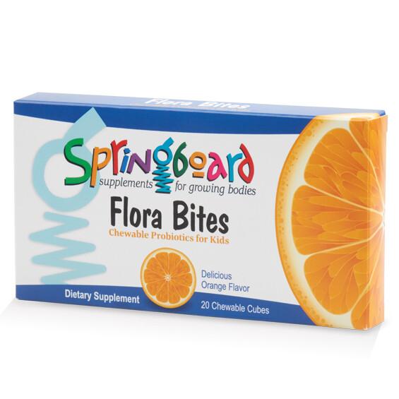 Flora Bites - 20 chewable cubes