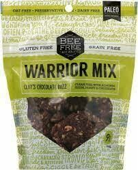 BeeFree Warrior Mix - Clay's Chocolate Buzz - 9 oz