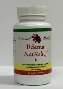 Edema Nat Relief - 60 capsules