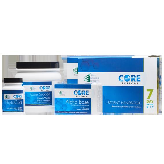 Core Restore - 7 Day Detox Kit - Vanilla