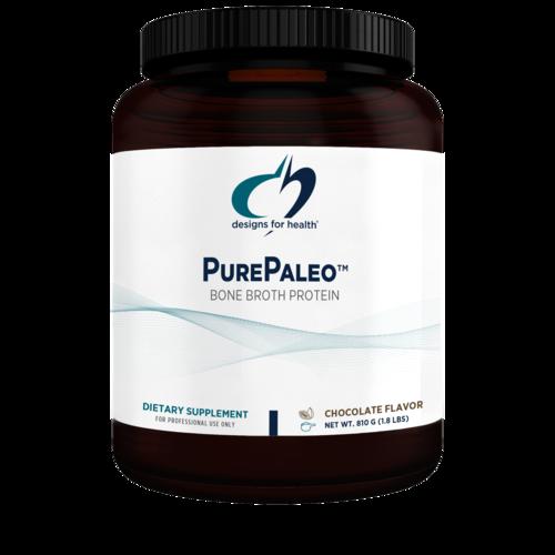Pure Paleo Bone Broth Protein - Chocolate - 1.8 lbs