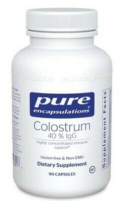 Colostrum 40 % IgG - 90 capsules