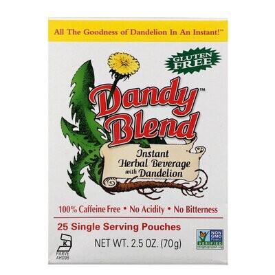 Dandy Blend - 25 Single Serving Pouches - 2.5 oz
