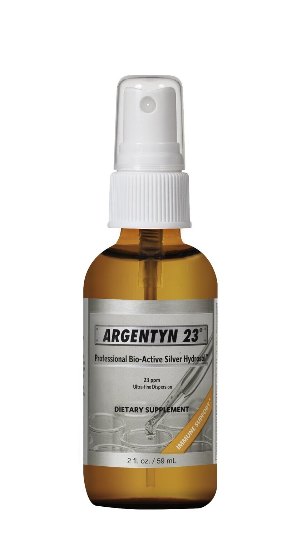 Argentyn 23 - Bio-Active Silver Hydrosol Fine Mist Spray - 2 fl. oz
