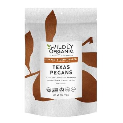 Organic Texas Pecans - 16oz