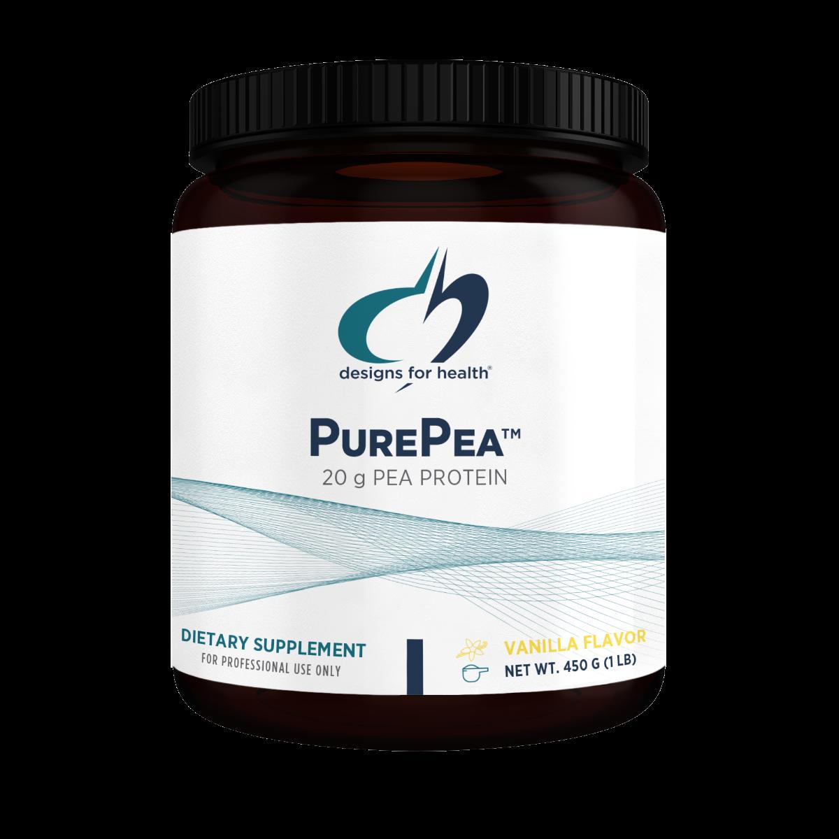 Pure Pea Protein Vanilla - 1lb.
