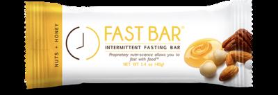 Fast Bar - Nuts+Honey - Single 1.4oz Bar
