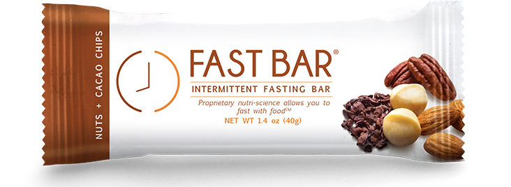 Fast Bar - Nuts+Cacao Chips - Single 1.4oz Bar