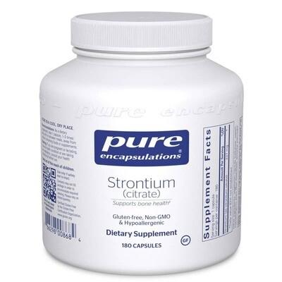 Strontium Citrate - 180 capsules