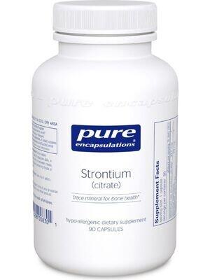 Strontium Citrate - 90 capsules