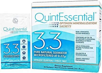 Quinton Hypertonic Seawater 3.3 - 30 Sachets