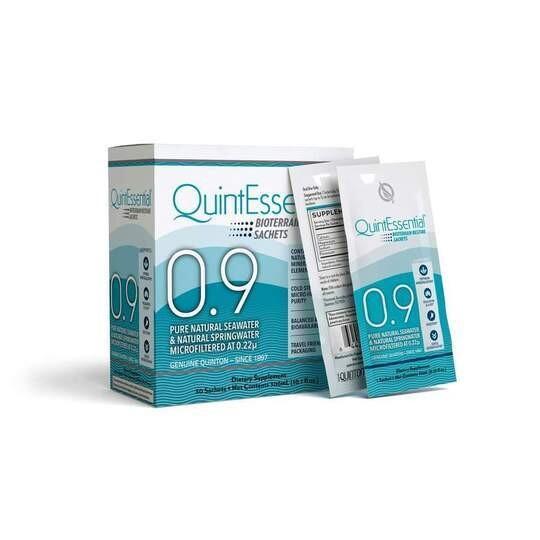 Quinton Isotonic Seawater 0.9 - 30 Sachets
