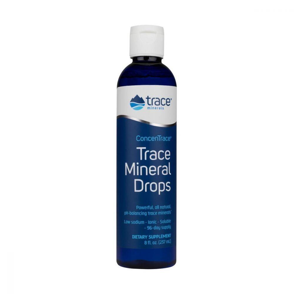Trace Mineral Drops - 8oz