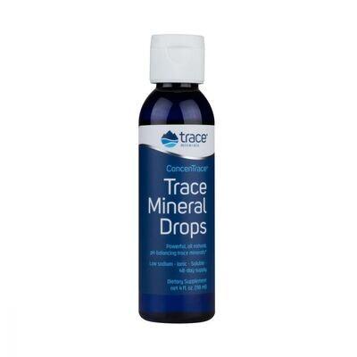 Trace Mineral Drops - 4 oz