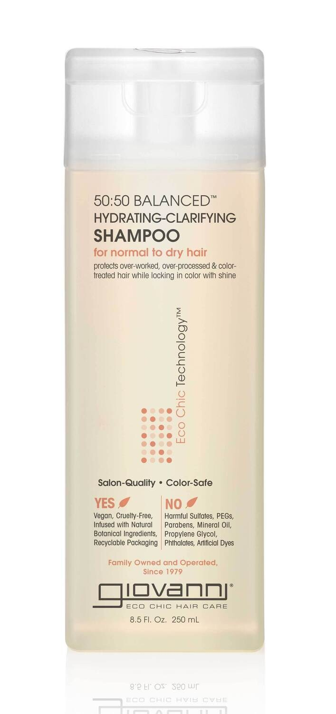 50/50 Shampoo 8.5 oz. Giovanni