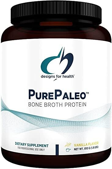 Pure Paleo Bone Broth Protein - Vanilla - 1.8 lbs