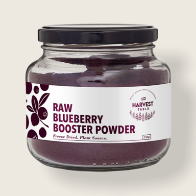 Raw Blueberry Booster Powder