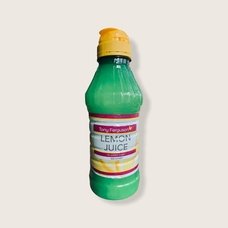 Lemon Juice No Sugar