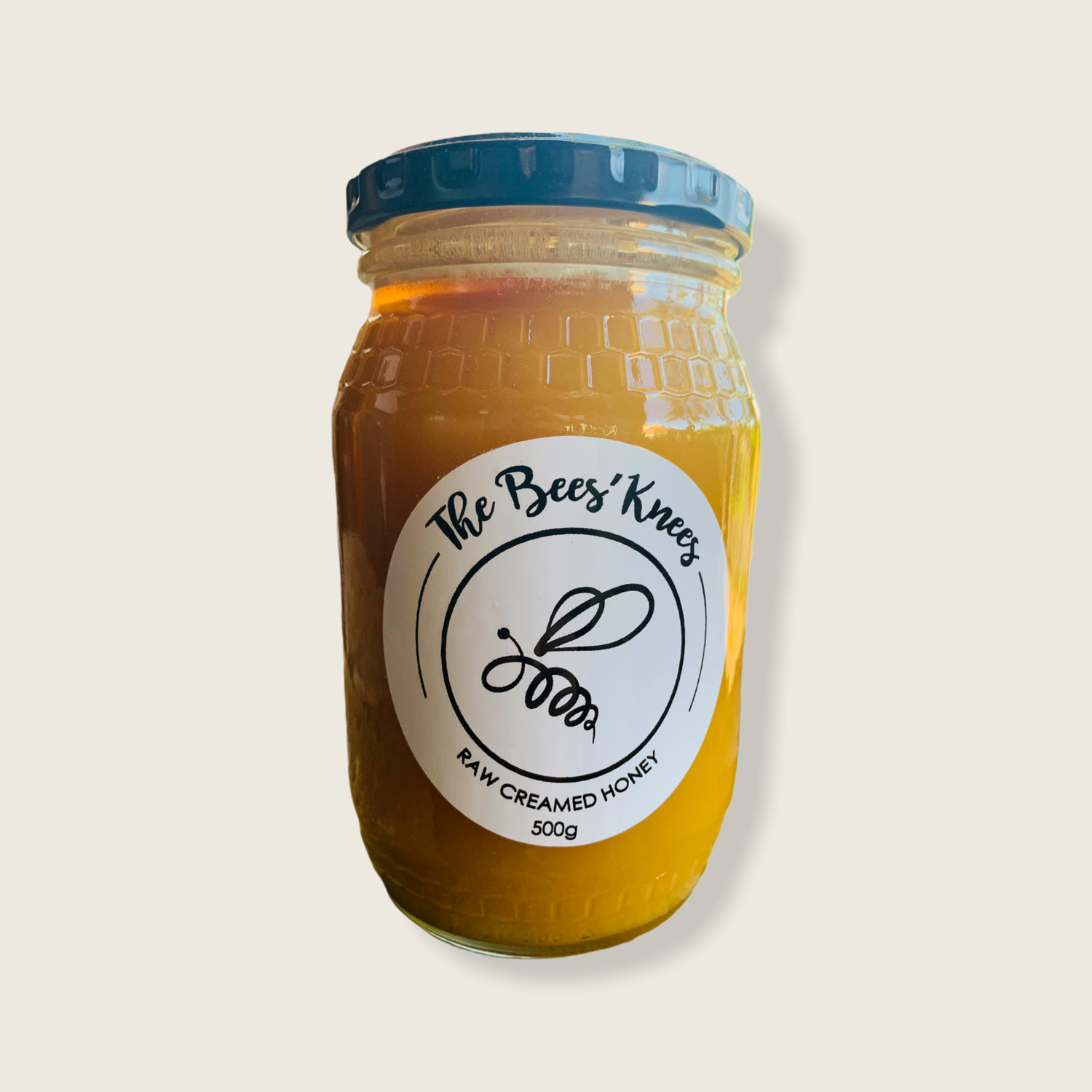 The Bees Knees Raw creamed honey