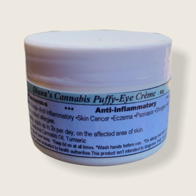Diana's Cannabis Puffy-eye Creme